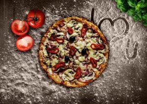הכנת פיצה בבית