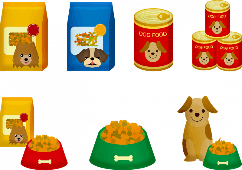 סוגים של מזון לבעלי חיים